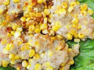 玉米黄金饼
