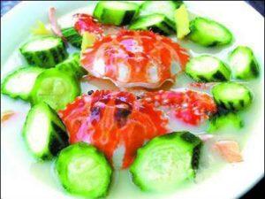 丝瓜炒花蛤